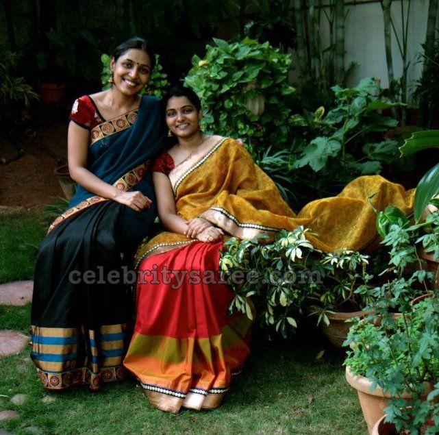 Royal Blue Designer Sarees   Saree Blouse Patterns