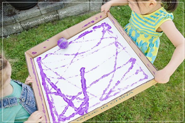 friendship painting for kids