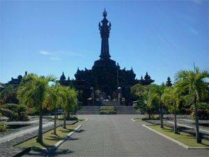 """Denpasar city (Kota Denpasar) is the capital of Bali, the name of Denpasar is comes from the Balinese word """"den"""" which means the north and """"pasar"""" means the market.  http://www.baliglory.com/2013/04/kota-denpasar-city-bali-capital.html #Denpasar #Bali #City #Capital"""