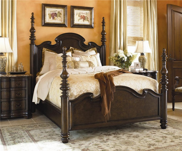 Master bedroom Hills of Tuscany by Thomasville