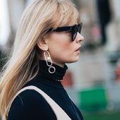 Jeux de bagues king size, statement earring punk, layering de colliers monogrammés... Zoom sur ces détails en vogue repérés à la sortie des défilés par Sandra Semburg.