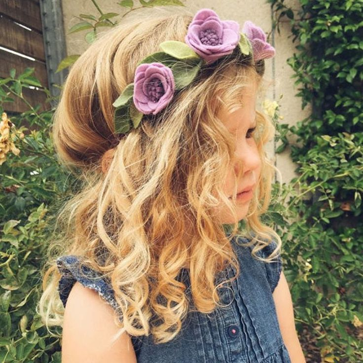 """""""What a doll in our NEW purple garland flower crown! This gorgeous crown comes in purple and coral and more colors coming! Check it out at Plaingirl.com…"""""""