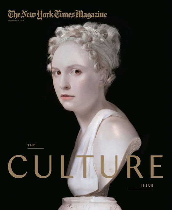 Under Cover: On Turning Lena Dunham Into a Neoclassical Bust - NYTimes.com ---- this is the coolest thing that I have ever seen