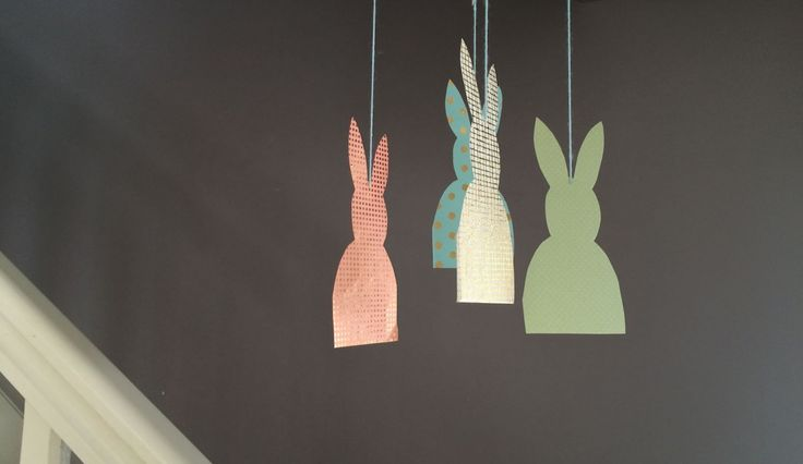 Petits lapins de Pâques (DIY de vacances)