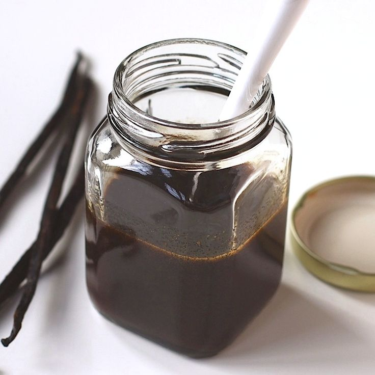 3-ingredient Homemade Vanilla Bean Paste - way healthier than storebought and so much more flavorful!
