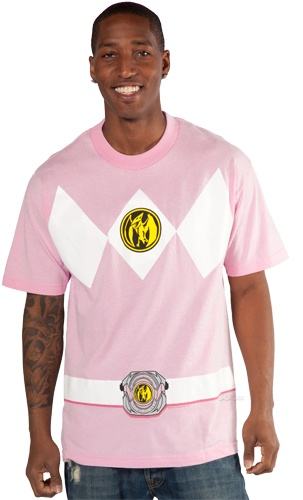 hahaha Pink Power Rangers Shirt - love it! I was obsessed with this show when i was younger and now Rori loves it too :P