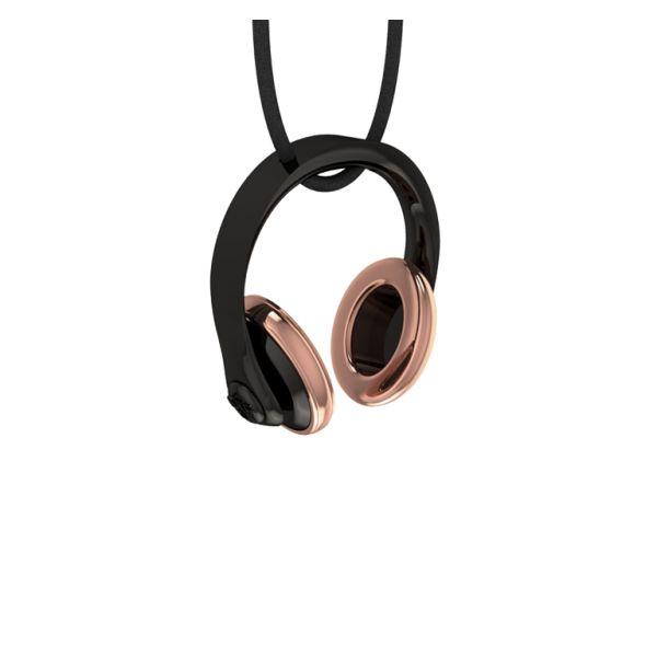 Headphones rose gold     #jewellery #fashion #accessories #greekdesigners #jewelry #necklace #pendant #style www.gpjewellery.com
