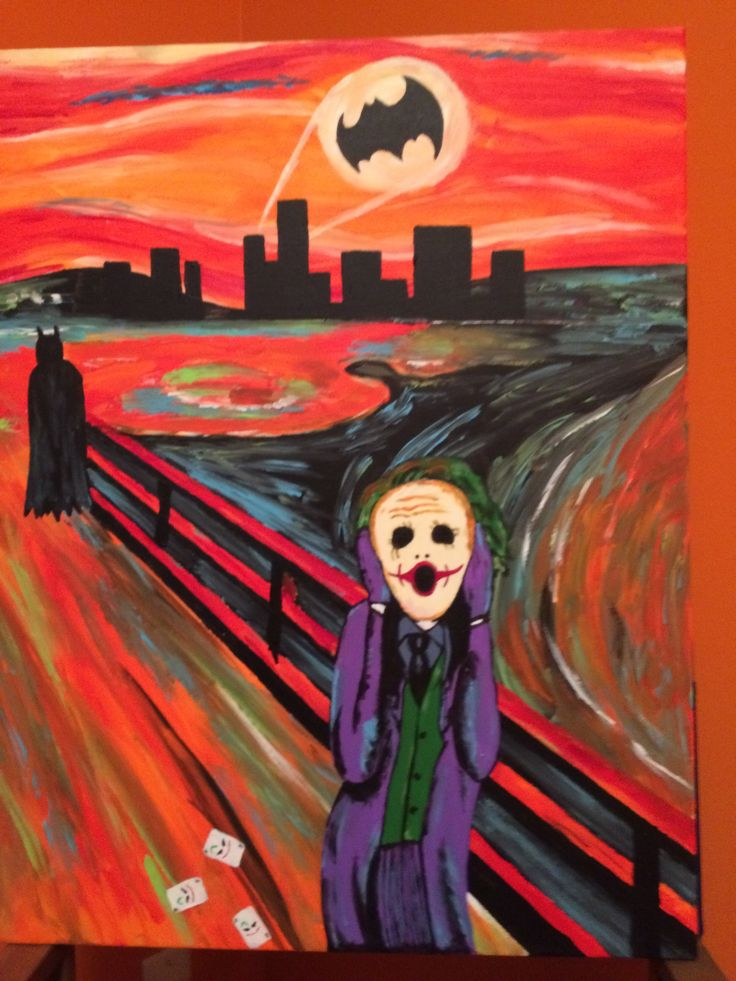 The Scream (Joker). Saw it online and wanted to make a ...