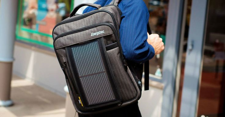 Solar-Powered Backpacks Provide Off-the-Grid, On-the-Go Energy Solutions