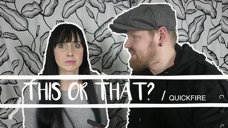 THIS OR THAT? | DAVID & DONETTA