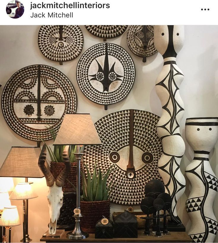Afrocentric Accessories African Home Decor African Furniture African Inspired Decor