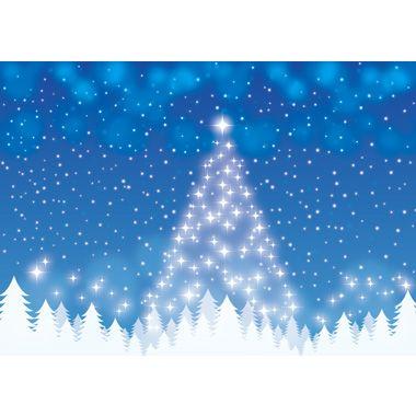 フリー背景イラスト冬「光のクリスマスツリー」JPG画像/PNG画像/ai形式/psd形式/より選んでご利用下さい。