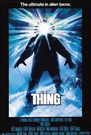 La cosa Poster