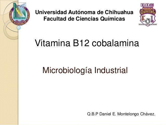 Vitamina b12 by Shockorroll via slideshare