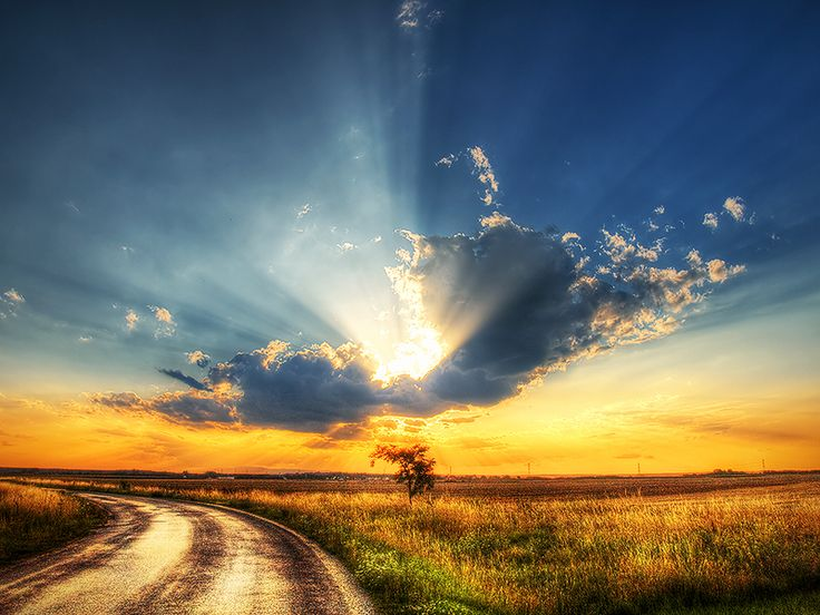 The journey II.  by =realityDream: The Journey, The Roads, Sky Photography, Natural Photography, Sunsets, Beautiful Places, Inspiration Photography, Cloud, Landscape Photography