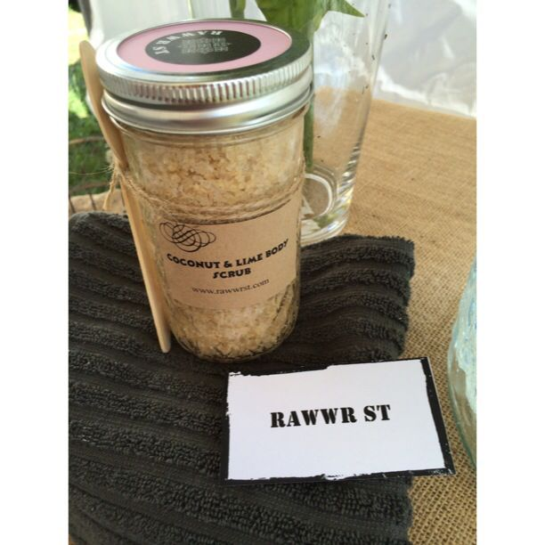 Rawwr St - Coconut & Lime DELICIOUS!!! Just like a fresh citrus cheesecake, the citrus explodes onto your body as the sugar, salt and oatmeal polishes that tired and dry skin good-bye. Its fresh, citrus scent is sure to be a winner in your household, as it is ours. Excite your senses during your next scrub experience. #rawwrst #beauty #natural #health #wellness #wellbeing #body #scrub #mooloolaba #skin
