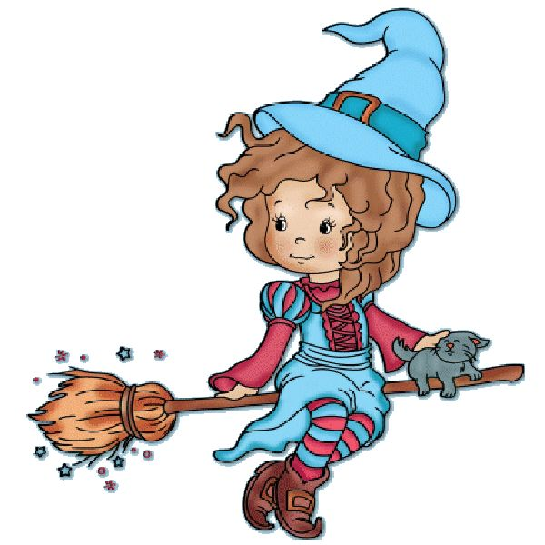 witches clipart witch halloween cute ghost cartoon casper clip transparent baby cartoons tattoo friendly male drawings happy visit fall background