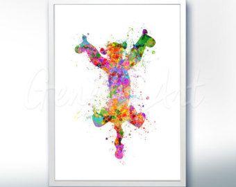 Tigrou Winnie l'ourson art de la pépinière Tigrou affiche