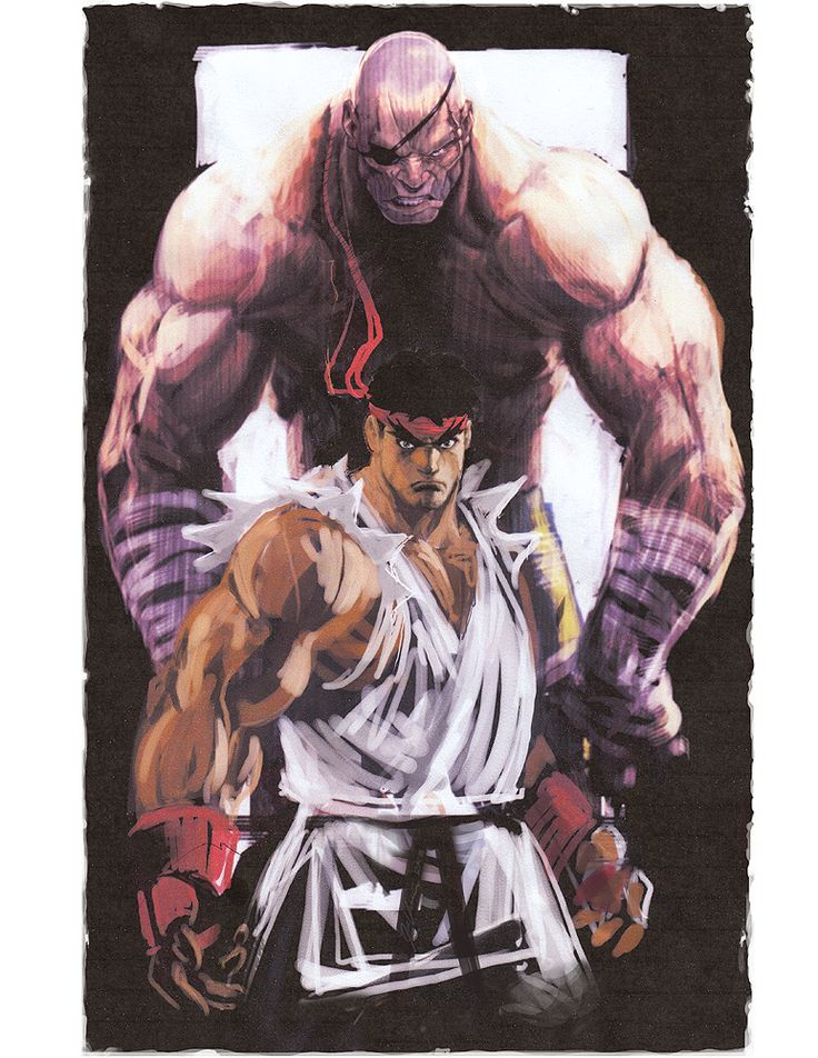 Ryu sagat by joverine