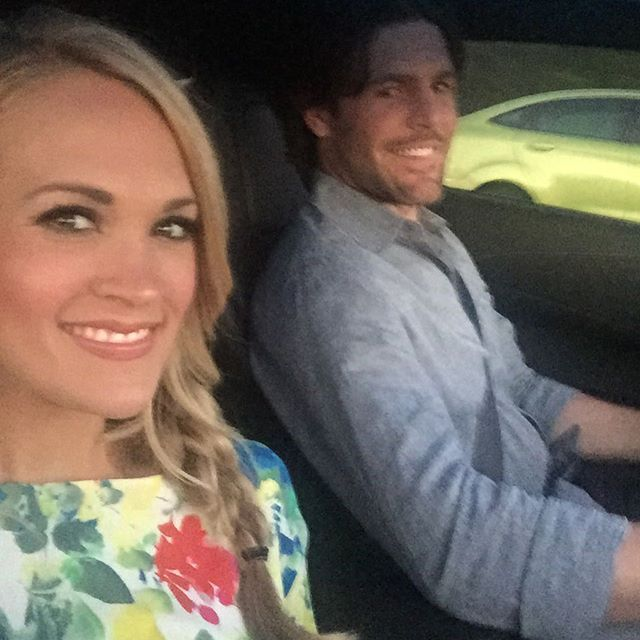 Carrie Underwood Shares a Cute Photo of Herself and Hubby Mike Fisher on Date Night — See the Pic!
