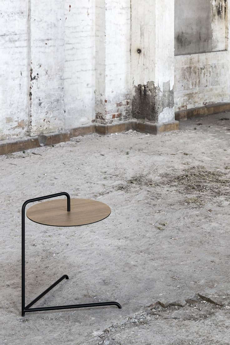 Cymbal side table by Bent Hansen