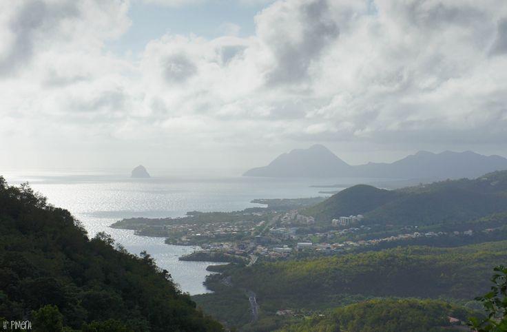 point de vue du morne Gommier -  Martinique