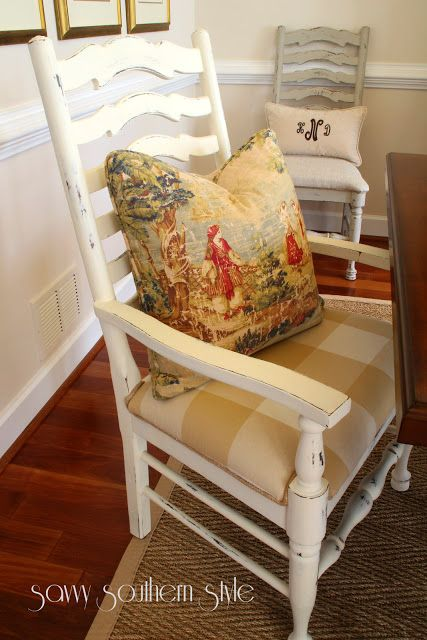 Savvy Southern Style: Dining Room Chairs