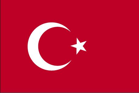 Country Flags: Turkey Flag