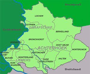 gelderland toeristisch kaart - Google zoeken