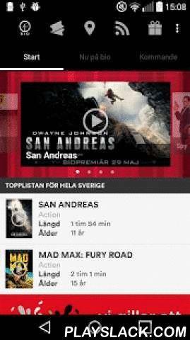 SF Bio  Android App - playslack.com ,  För dig som gillar film och bio är SF Bio-appen en ovärderlig hjälp när du är på språng och känner för att se en film där film är som bäst – på bio! Här kan du se trailers och läsa om kommande och aktuella filmer. När du hittat en film som du gillar kan du enkelt köpa eller reservera dina biobiljetter. Du kan betala dina biljetter med något av SF Bios betalmedel, samt de vanliga kontokorten. Du kan även spara den information som du anger, som tex…