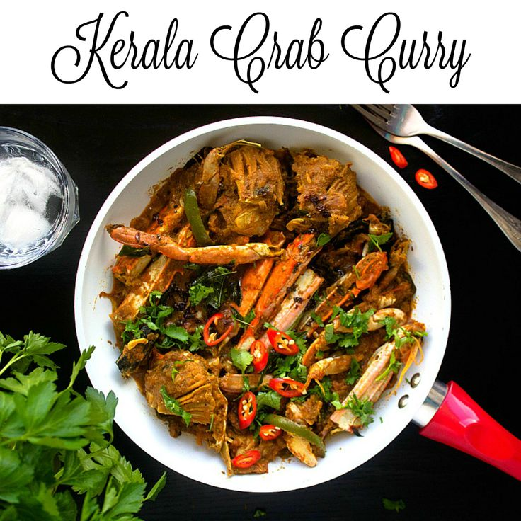 how to make crab curry kerala style