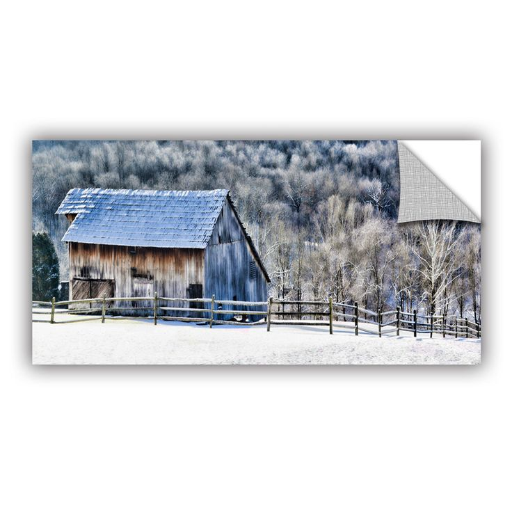 Frosty Morning by Julie Mann Sperry Wall Mural