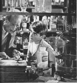 ROBERT J BOB ANDERSON AS THE YOUNG GEORGE BAILEY(WOW, WHEN THE MAN SLAPS THE YOUNG BOY IN THE EAR, IT JUST BREAKS MY HEART.)