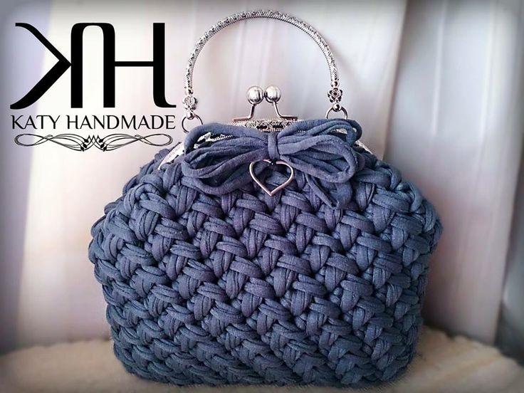 Katiuscia Borsa XXL #crochet #bag