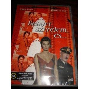 Kenyer, Szerelem, es... / Pane, Amore E... / 1955 / Region 2 PAL DVD / HUNGARIAN ONLY Sound / NO ENGLISH or Italian options / Sophia Loren, Vittotio De Sica / 95 minutes $14