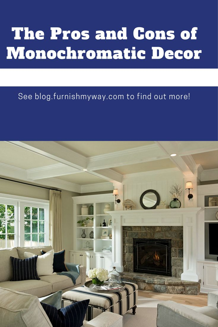 Monochromatic decor is always in style, but is it the style for you? Read on to find out if a monochromatic space would be the perfect addition to your home!