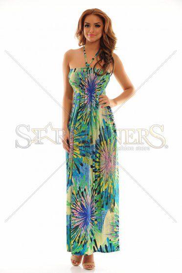 Trendy Crowning Blue Dress