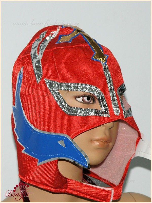 Wrestling mask - S 0034  USD 11 - for children