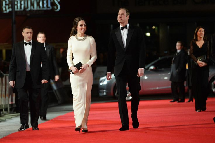 Kate Middleton and Prince William attend premiere of Mandela film in London
