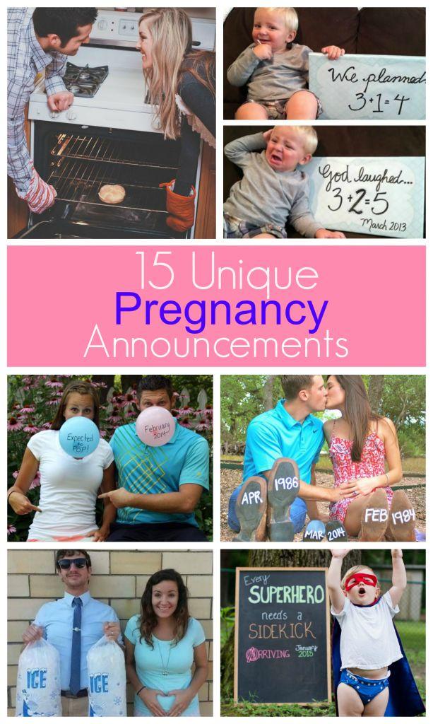 Expecting a baby? 15 Unique Pregnancy Announcements