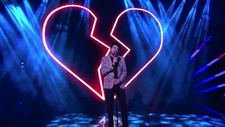 "10/19/15 Adam Lambert performing ""Another Lonely Night"" on XFactor Australia"