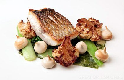 Sea Bass with Soy Recipe - Great British Chefs