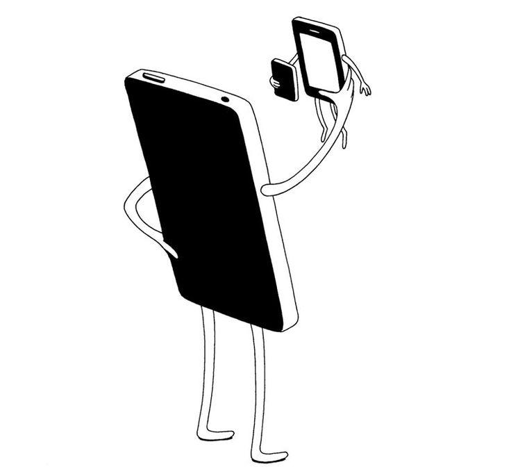Minimalistische Smartphone-Kunst by Mrzyk and Moriceau