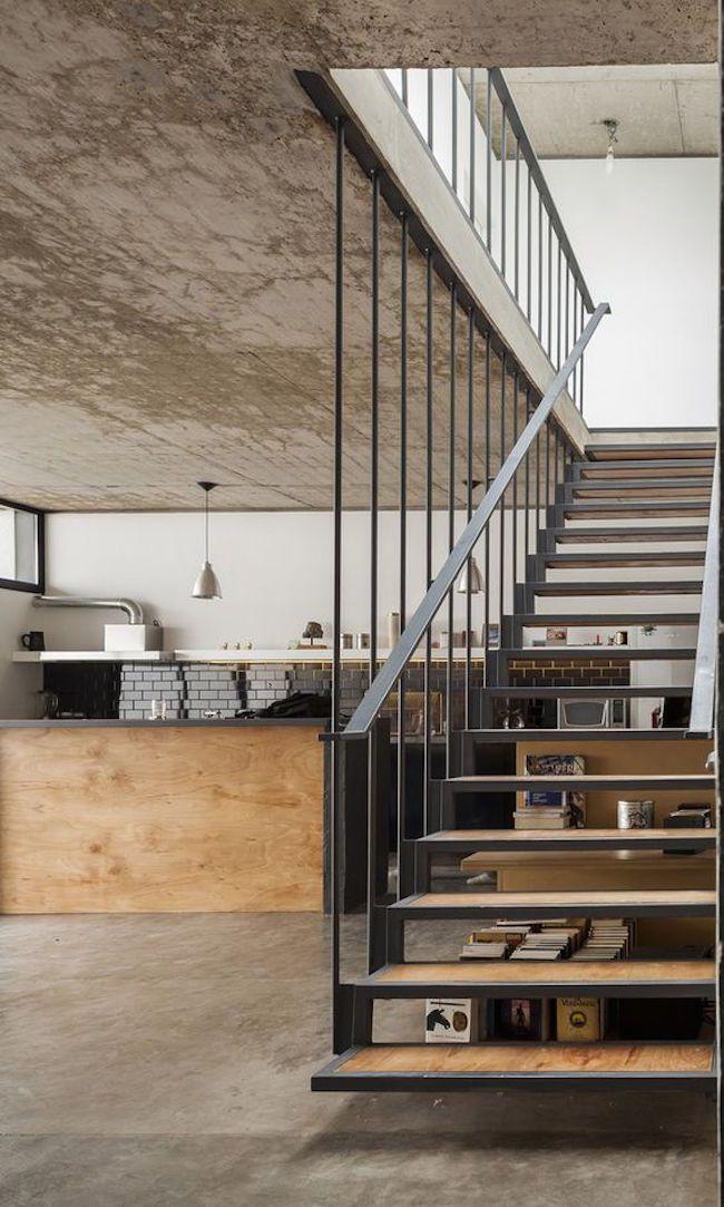 Die besten 25+ Industrietreppen Ideen auf Pinterest Stahltreppen - exklusives treppen design