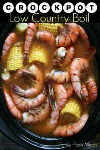 Crockpot Low Country Boil __ Fun Summer Meal