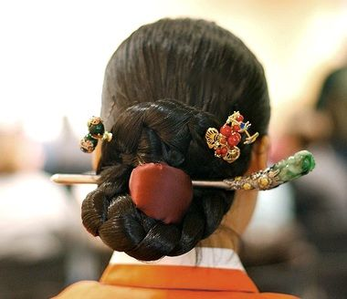 korean hair ornament..binyeo