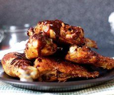 Запеченая курица под медовым соусом