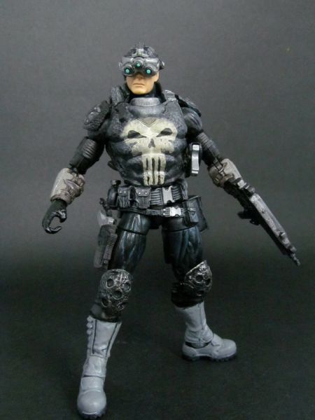 The Punisher (Marvel Legends) Custom Action Figure from figure realm. http://www.figurerealm.com/viewcustomfigure.php?FID=66239