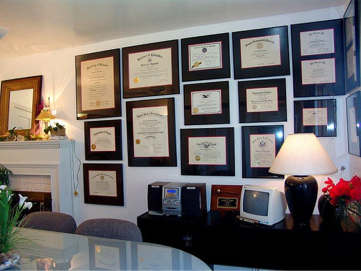 Ragerlaw Com How To Hang Documents Diploma Wall Degree