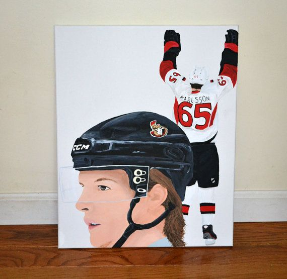 Erik Karlsson Ottawa Senators NHL Hockey 16x20 by 21CannonSalute, $150.00 coupon code SMALLFRY for 20% off through dec 2nd